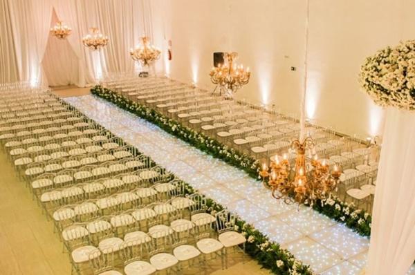 iluminacao casamento pista cristal gold vision