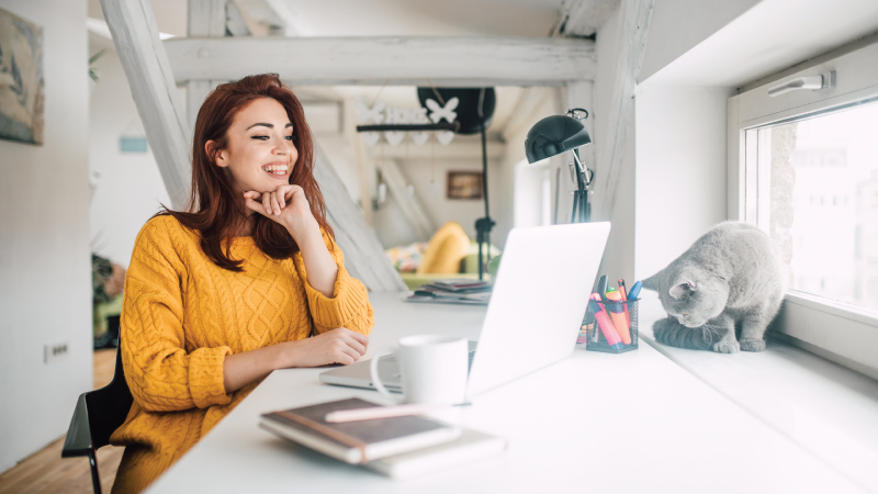 Your ideal work-at-home week
