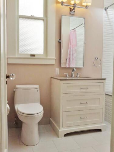 guest bath cabinet