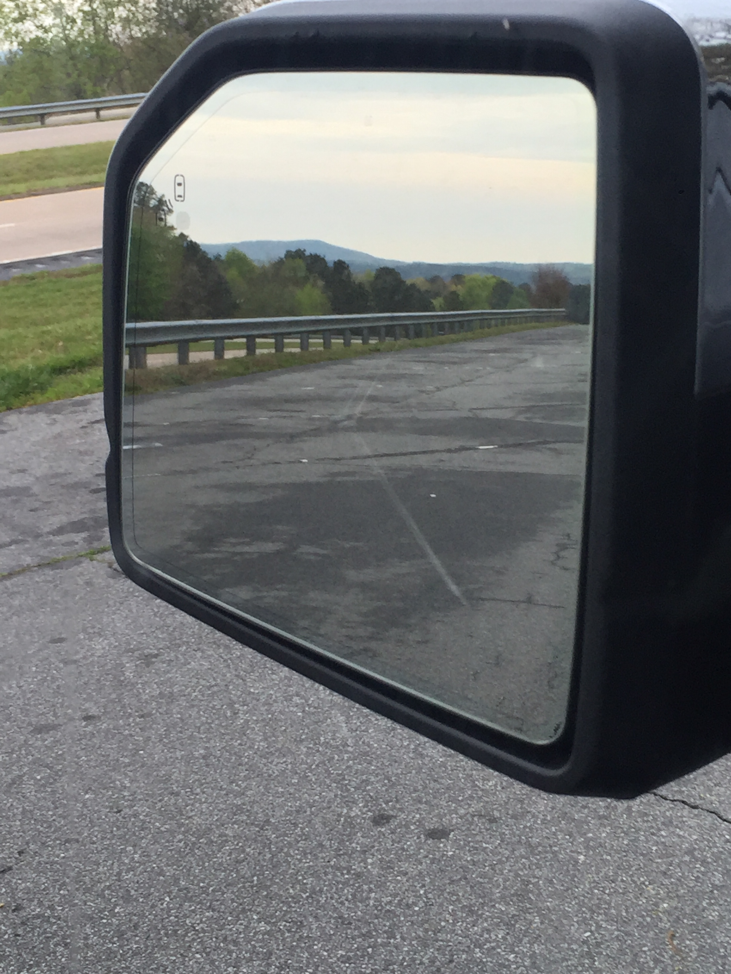 Front Windshield vs Rear Mirror What Do You Think?