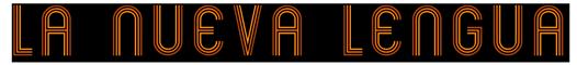LA NUEVA LENGUA Logo