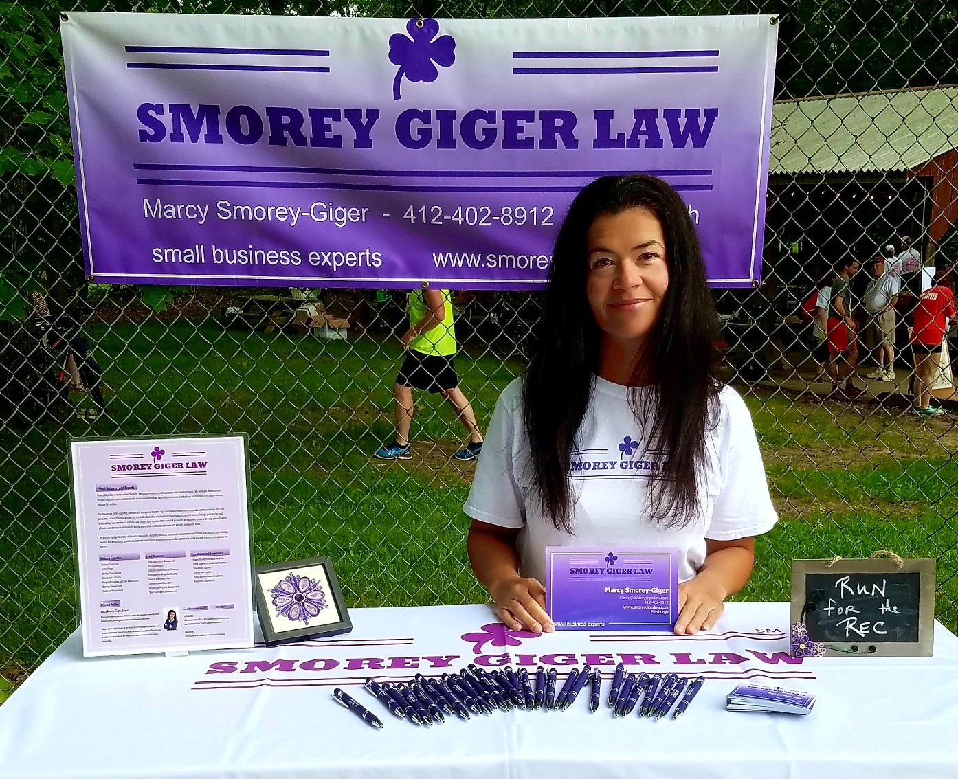 Smorey Giger Law sponsored The McKnight Village Civic Association - Run for the Rec
