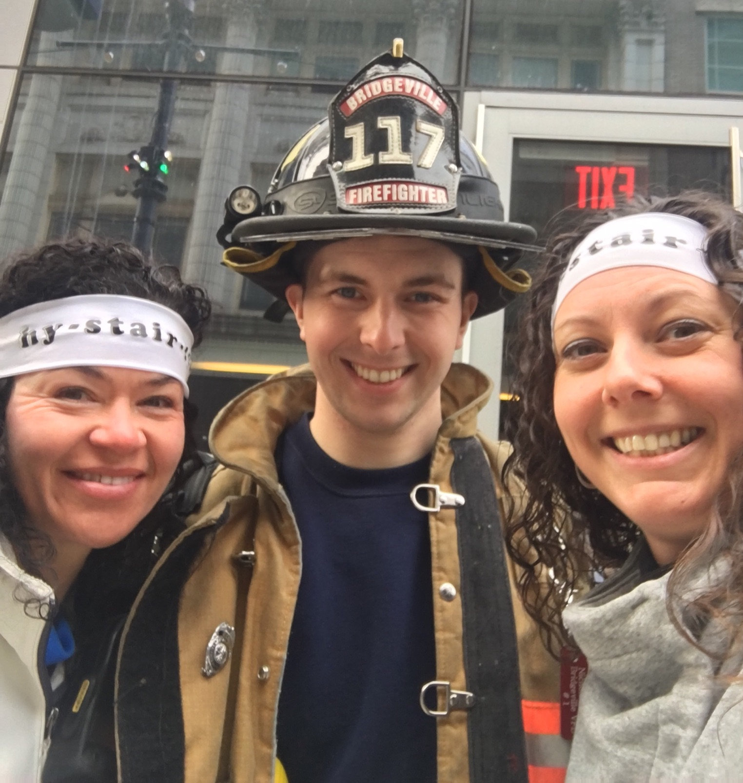 "Smorey Giger Law fundraises for American Lung Association – Fight for Air Climb – team ""Hy-Stair-ical"""
