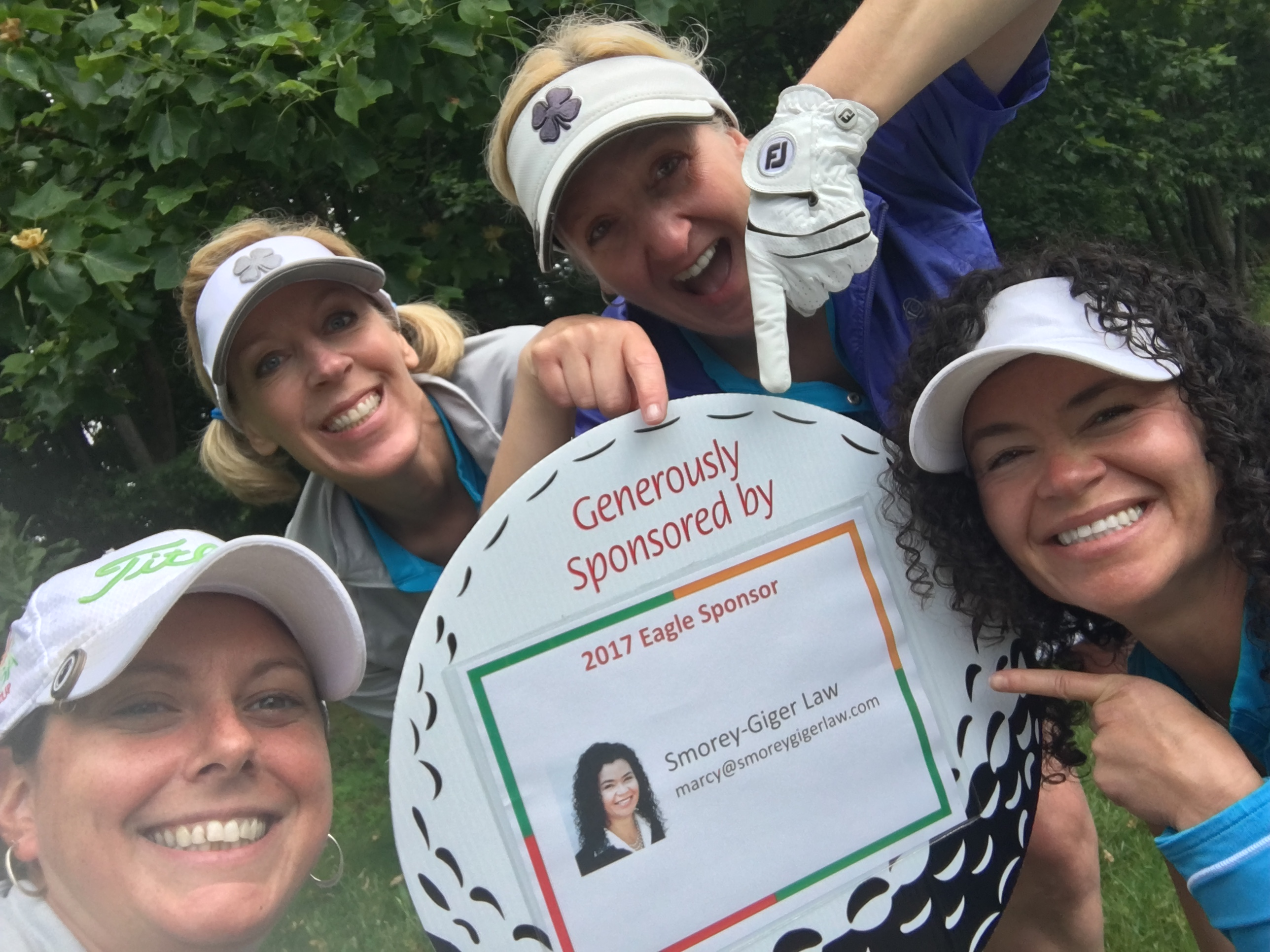 Smorey Giger Law sponsor for Executive Women's Golf Association Pittsburgh - Chapter Championship