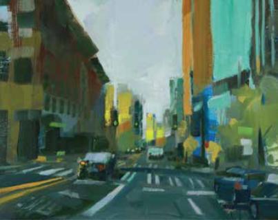 PHILIP FREY (American, born 1967) Slightest Defect, 2016 Oil on linen panel Courtesy of the artist