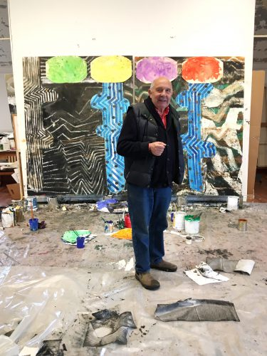 John Walker, 2017, studio view