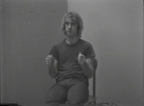 William Wegman, Joke Paper, 1972-1973, video, 0:54