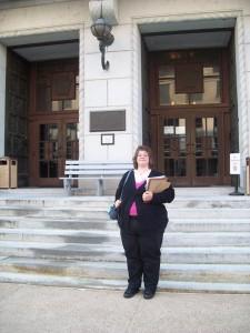 Dawn Romig Testifies at the Pennsylvania State Capitol