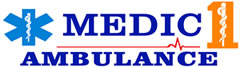 Medic 1 Ambulance Logo