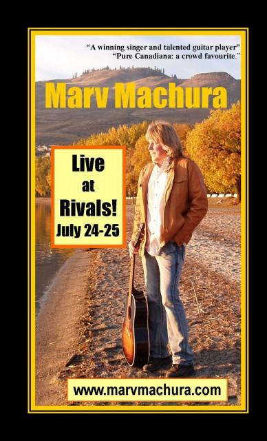 Marv Machura gig poster