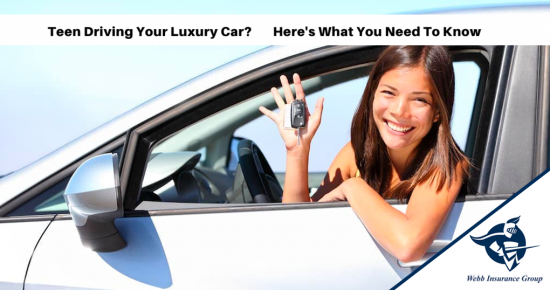 3 TIPS FOR TEEN DRIVERS BEHIND THE WHEEL OF YOUR LUXURY CAR