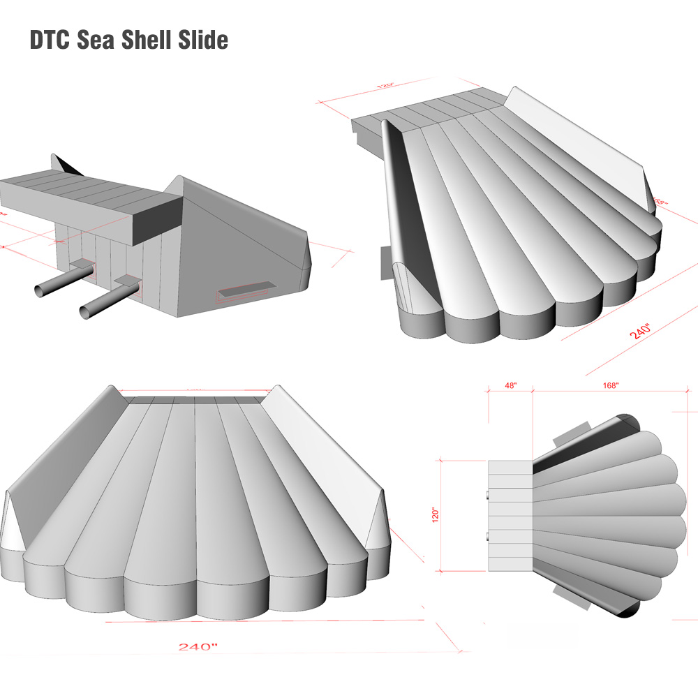 2015 Deck The Chairs^Seashell Slide Modeling