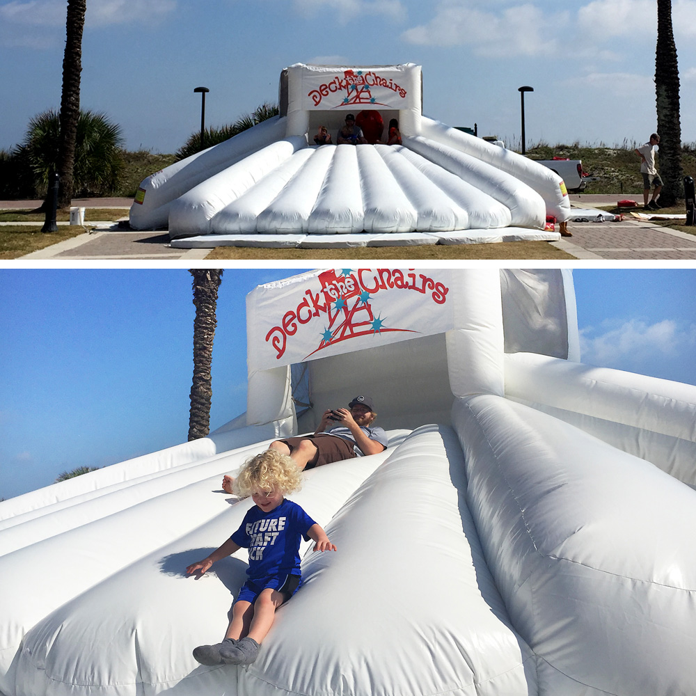 2015 Deck The Chairs^Seashell Slide Install and Test