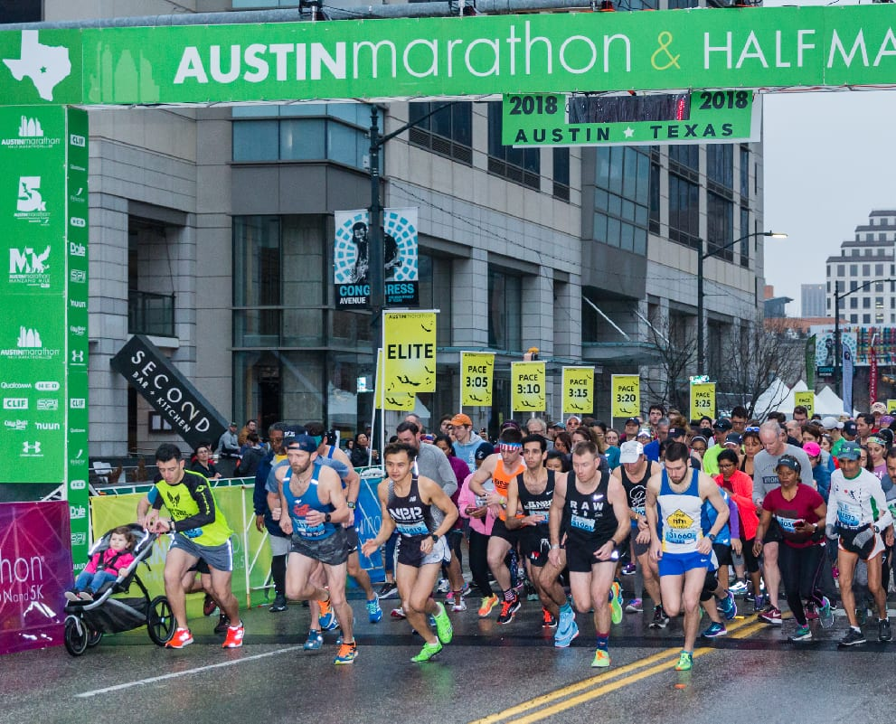 austin marathon 5K start