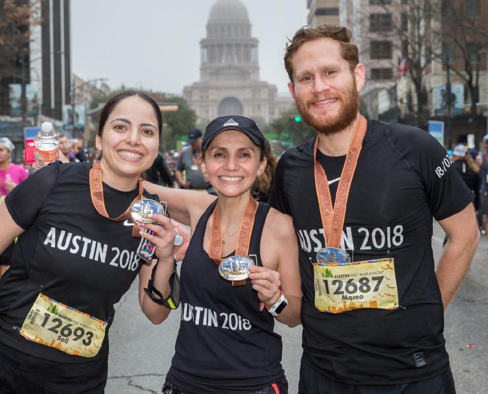 austin marathon half marathon team