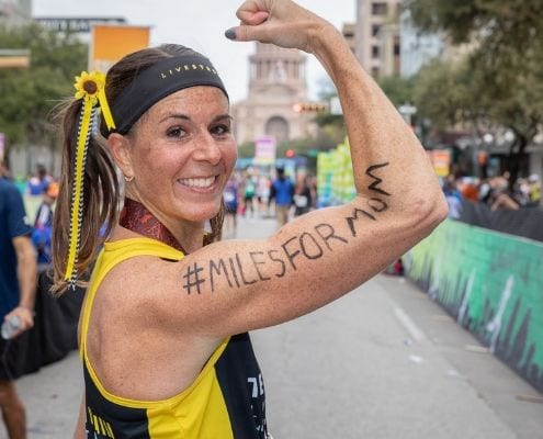 Runners create inspirational running stories when they run the Austin Marathon on behalf of a loved one!