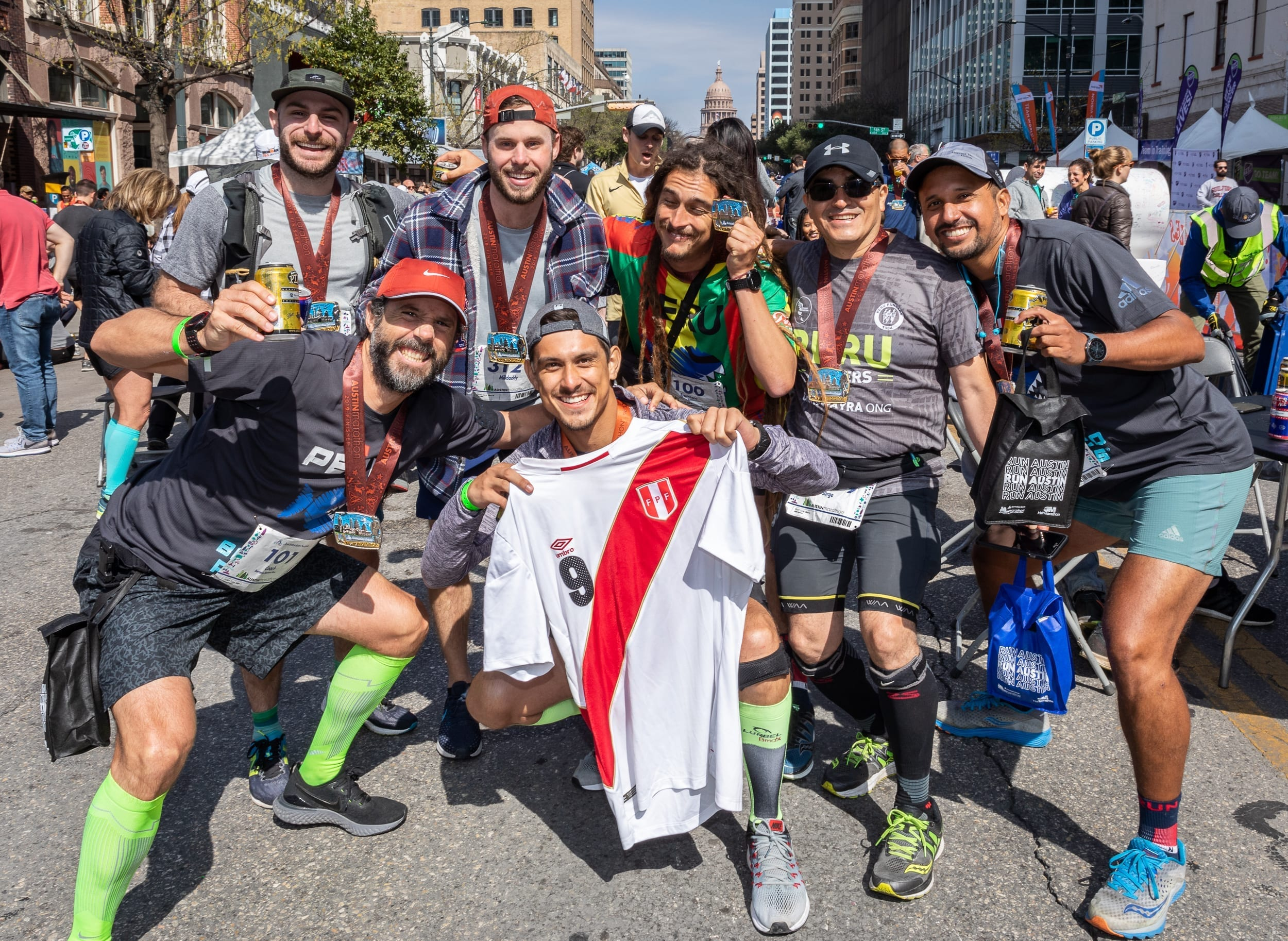 Runners traveled from all 50 states ad 38 countries to participate in the 2019 Austin Marathon, which contributed $48.5 million to the Austin economy.