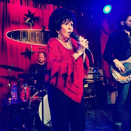 Image of Wanda Jackson, the Queen of Rockabilly, performing at Continental Club. Enjoy the Austin experience when you take in a show at Continental Club!