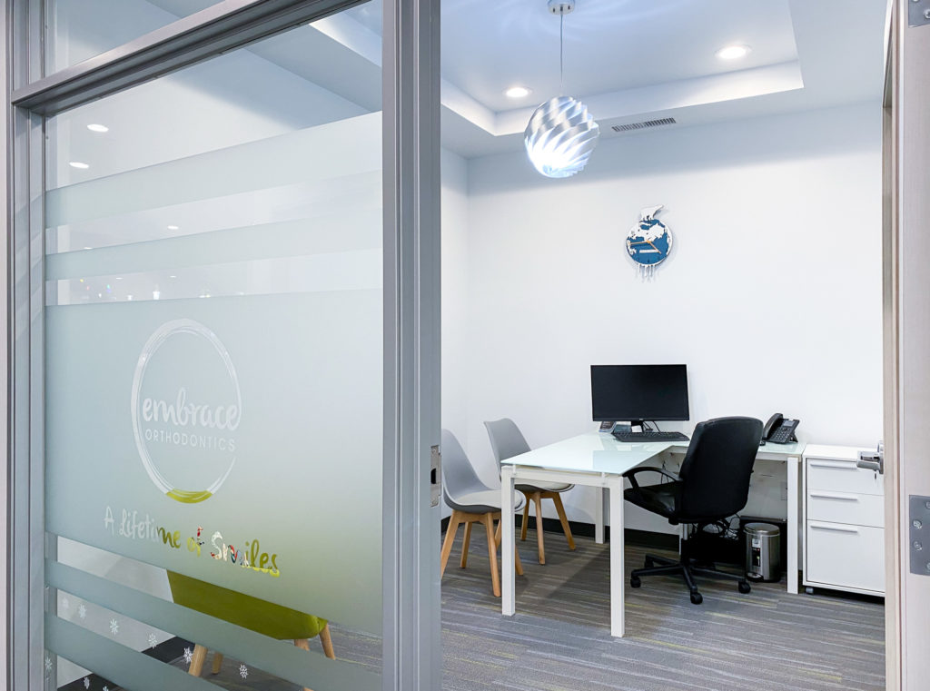Embrace Orthodontics office