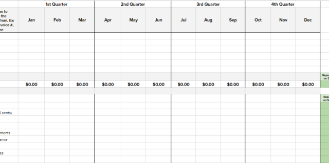 The New Small Business Income, Expense, and Tax Tracker