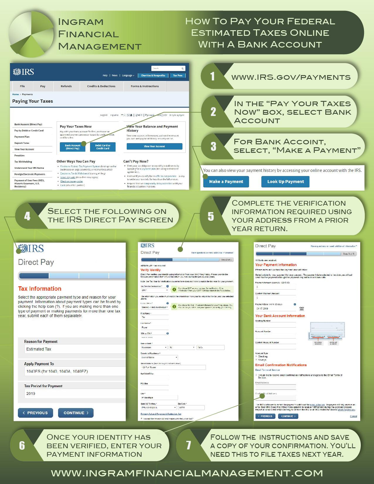 Ingram Financial Management Online Estimated Tax Payments