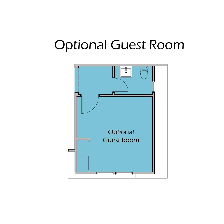 Heartland Plan T3 Optional Guest Room