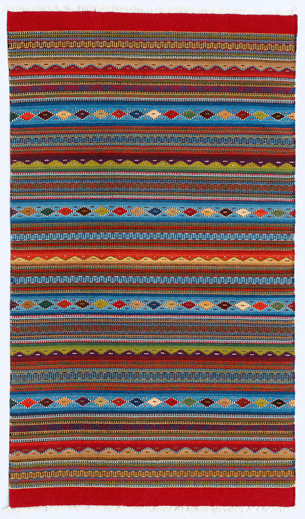 Zapotec textile art by Porfirio Gutiérrez y Familia