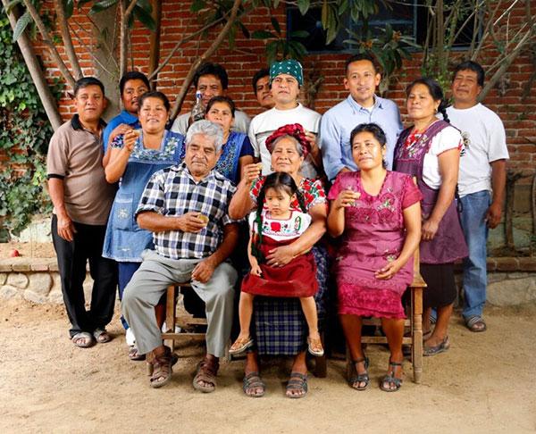 Porfirio Gutiérrez y familia