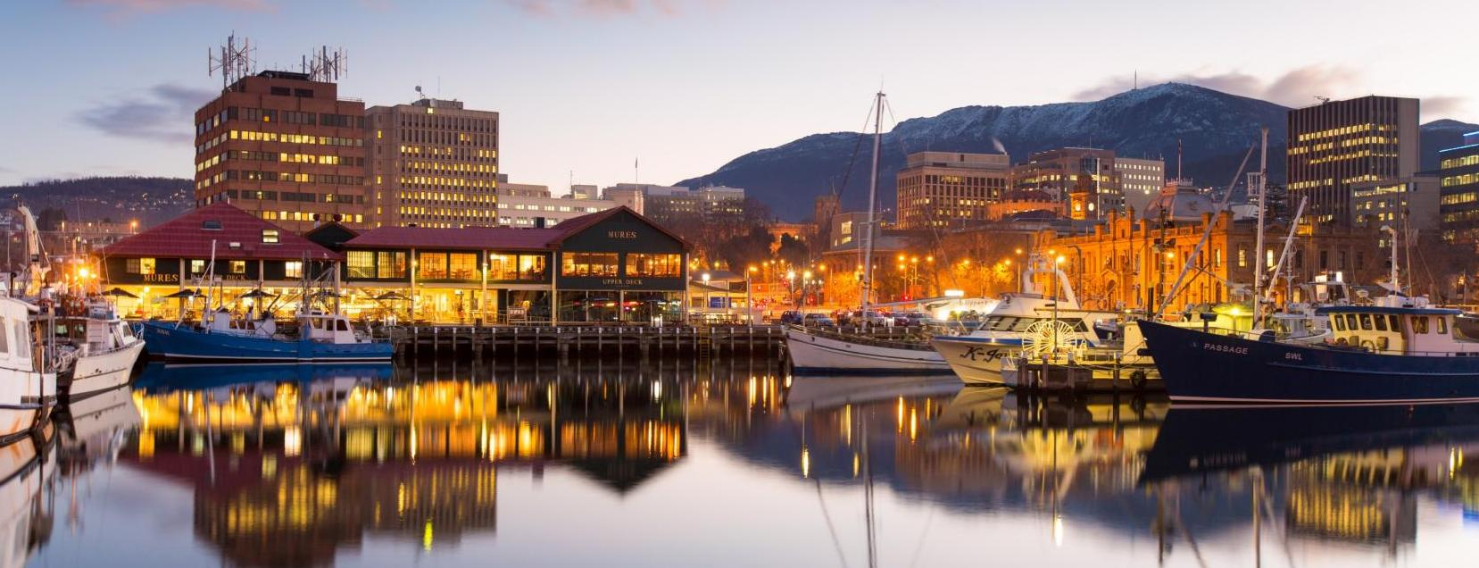 Hobart City is at your door step...