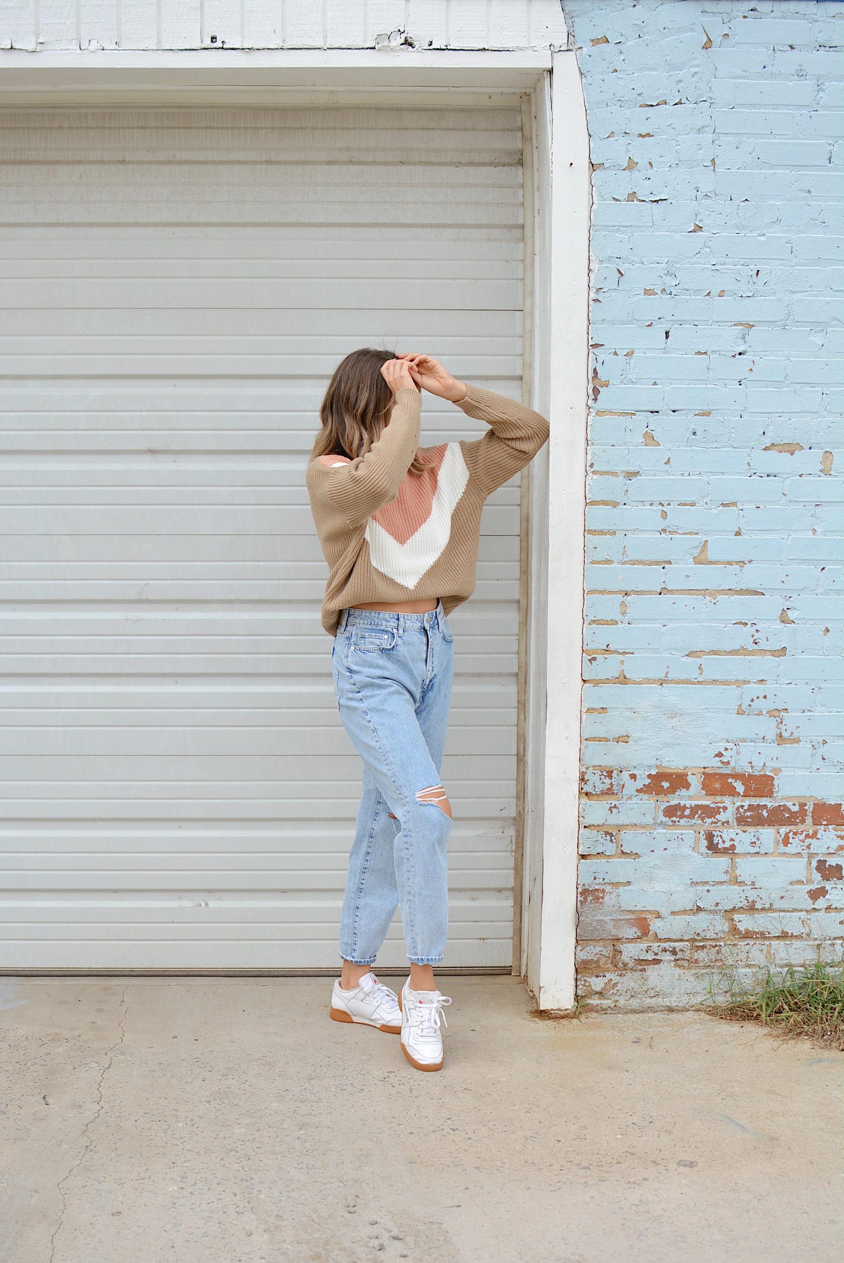 hm vintage mom jeans