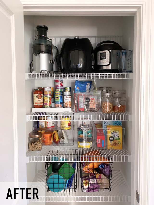 Pantry Organization Before After
