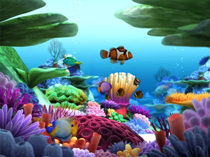 Marine Life 3D Screensaver 2