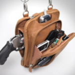 picture of a gun in a purse