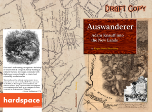 Image, cover to Auswanderer, by Roger David Hardesty