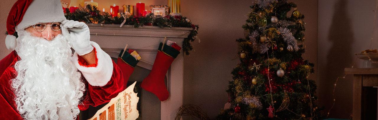 Santa premia tu Ahorro Navideño