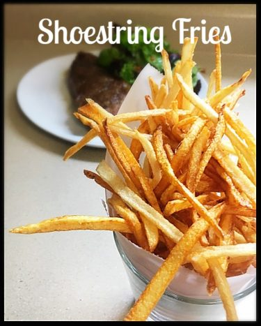 Shoestring fries pic