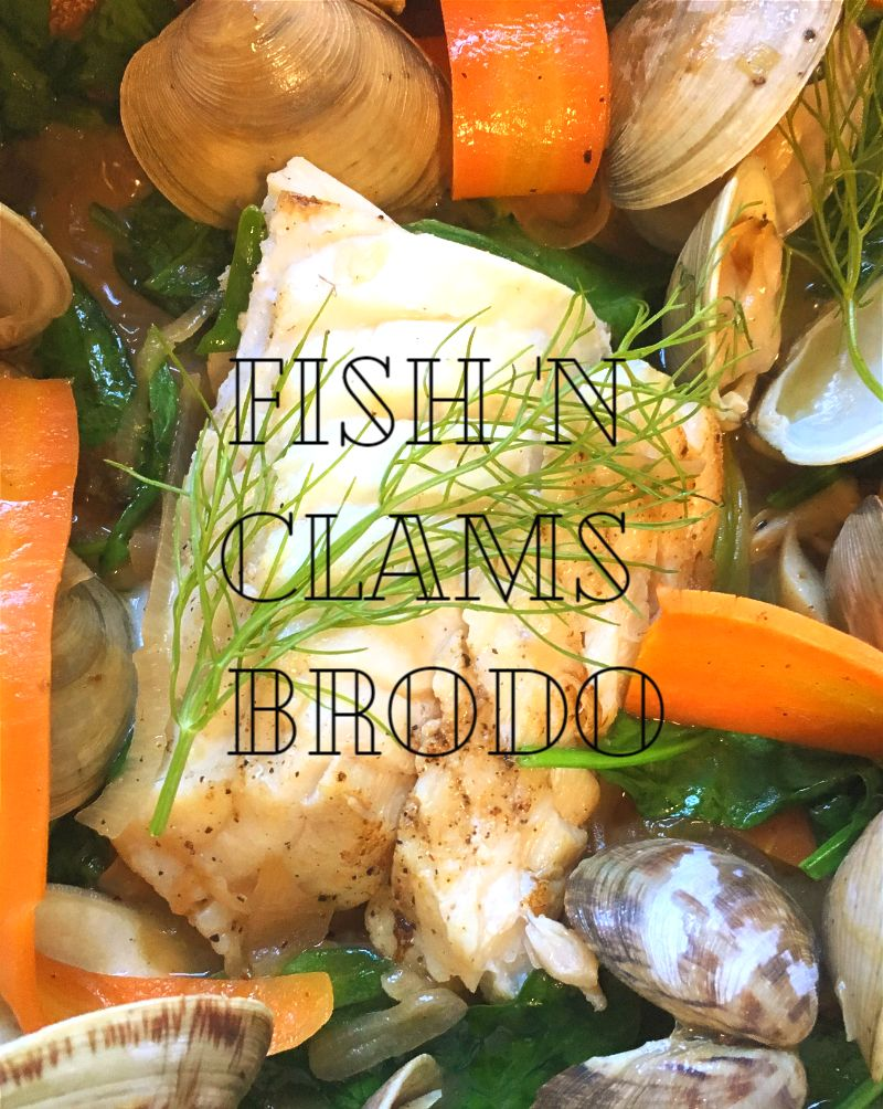 Fish-Clams-Fennel Stew - pic