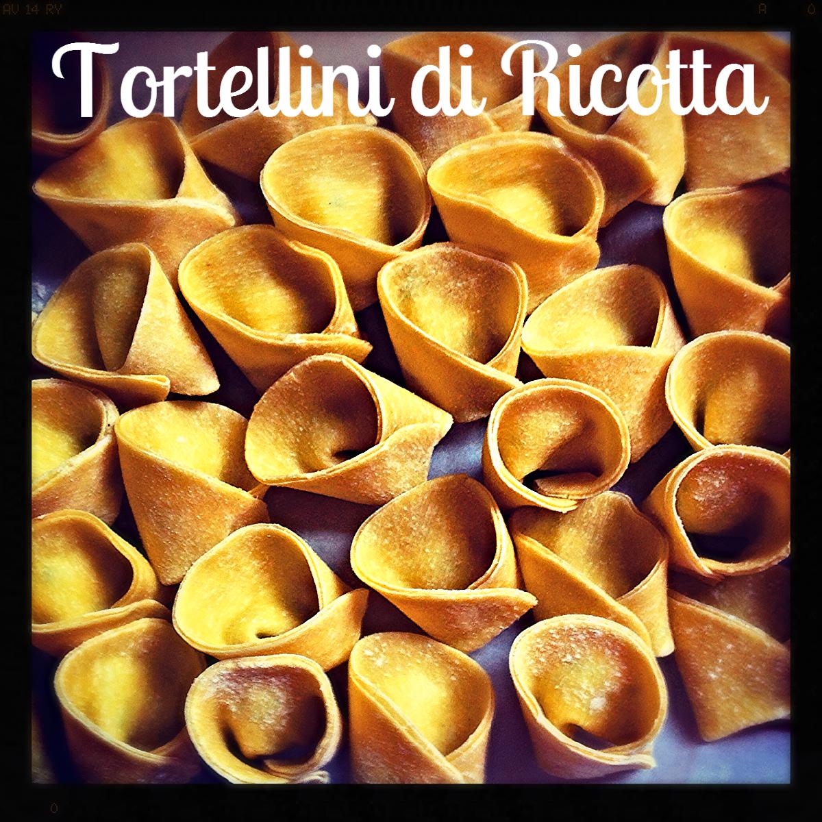 Tortellini, Ricotta, Basil