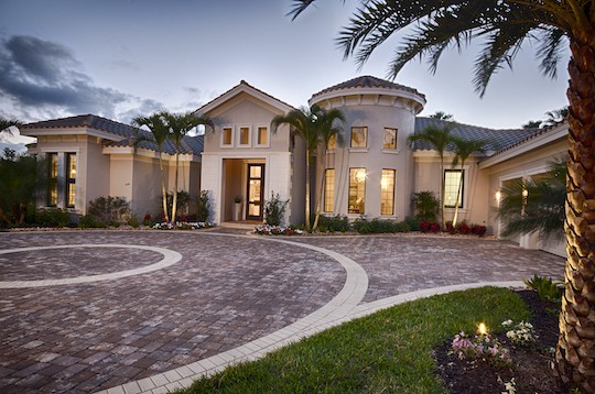 Naples Florida Driveway Brick Pavers