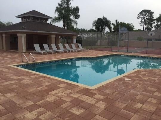 Homeowners Association Club House Pool