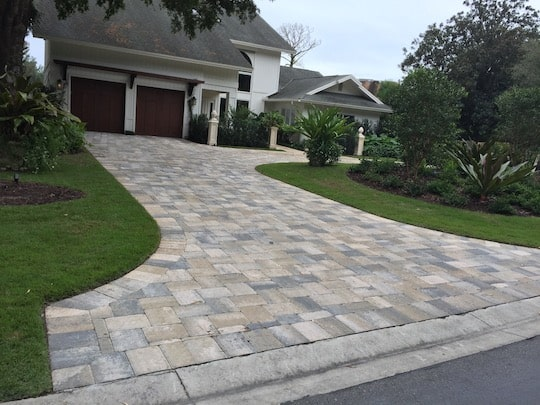 Marco Island Driveway Paver Install