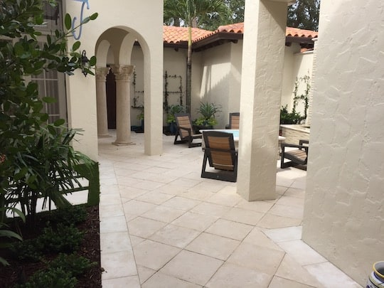 Walkway and Entry Paver Installation