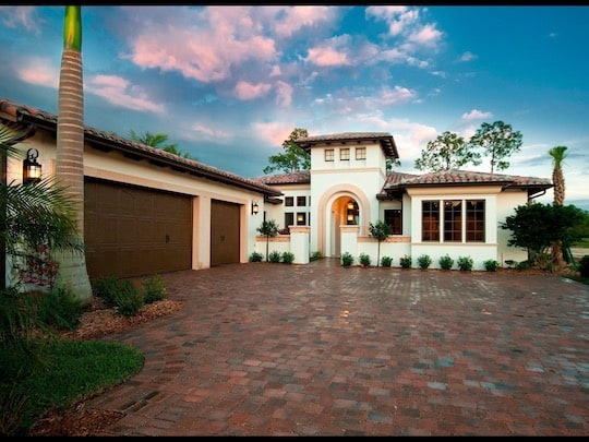 Naples Driveway and Patio Paver Install