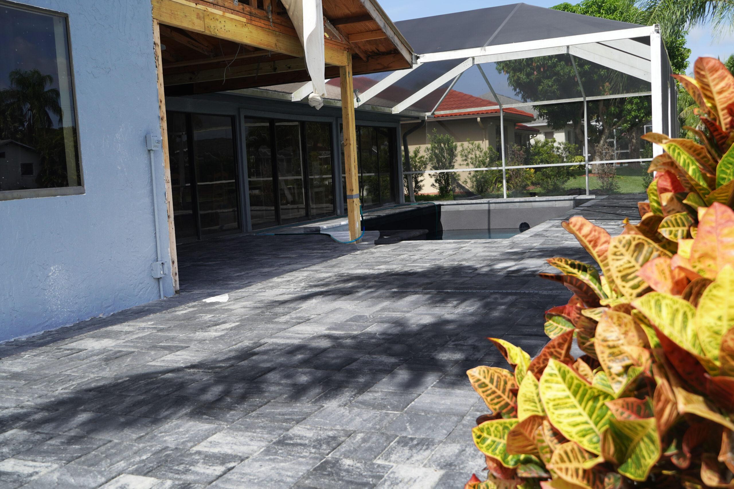 Bonita Springs FL Paver Pool Decks B