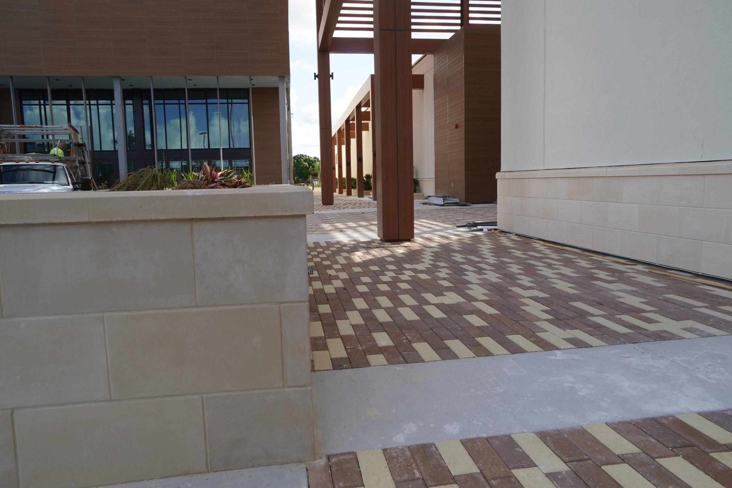 Coastland Center Commercial Paver Installation A