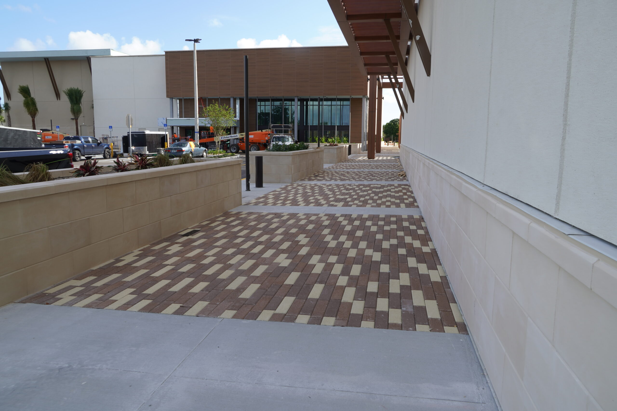 Coastland Town Center Commercial Paver Installations