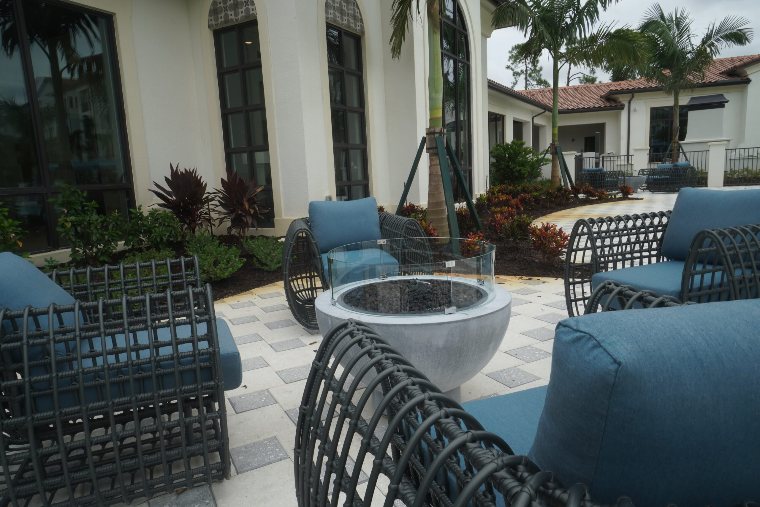 Commercial FirePit at Lago Community