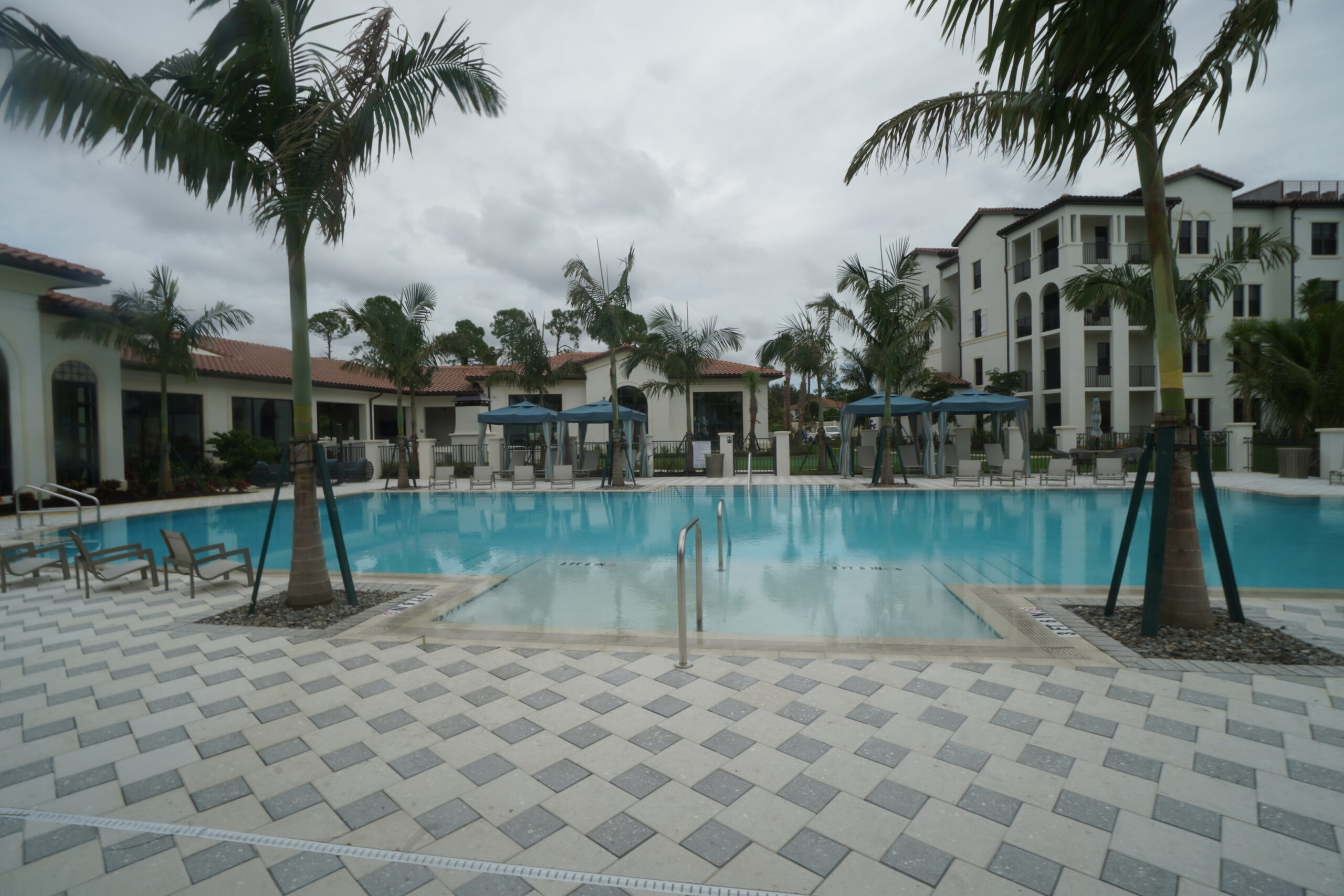 Lago HOA Communmity Pool And Resort Pavers