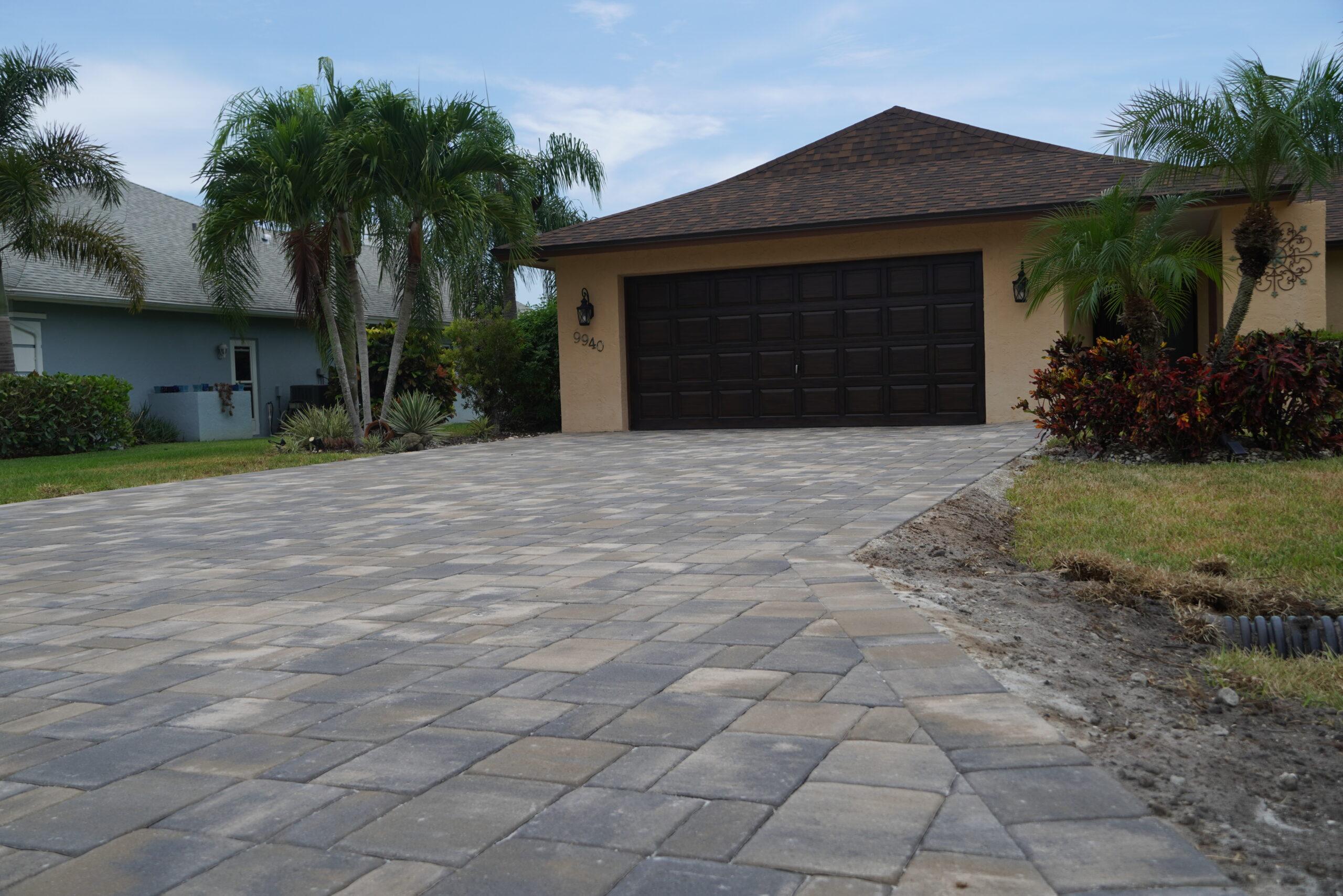 Naples FL Paver Driveway Installer B