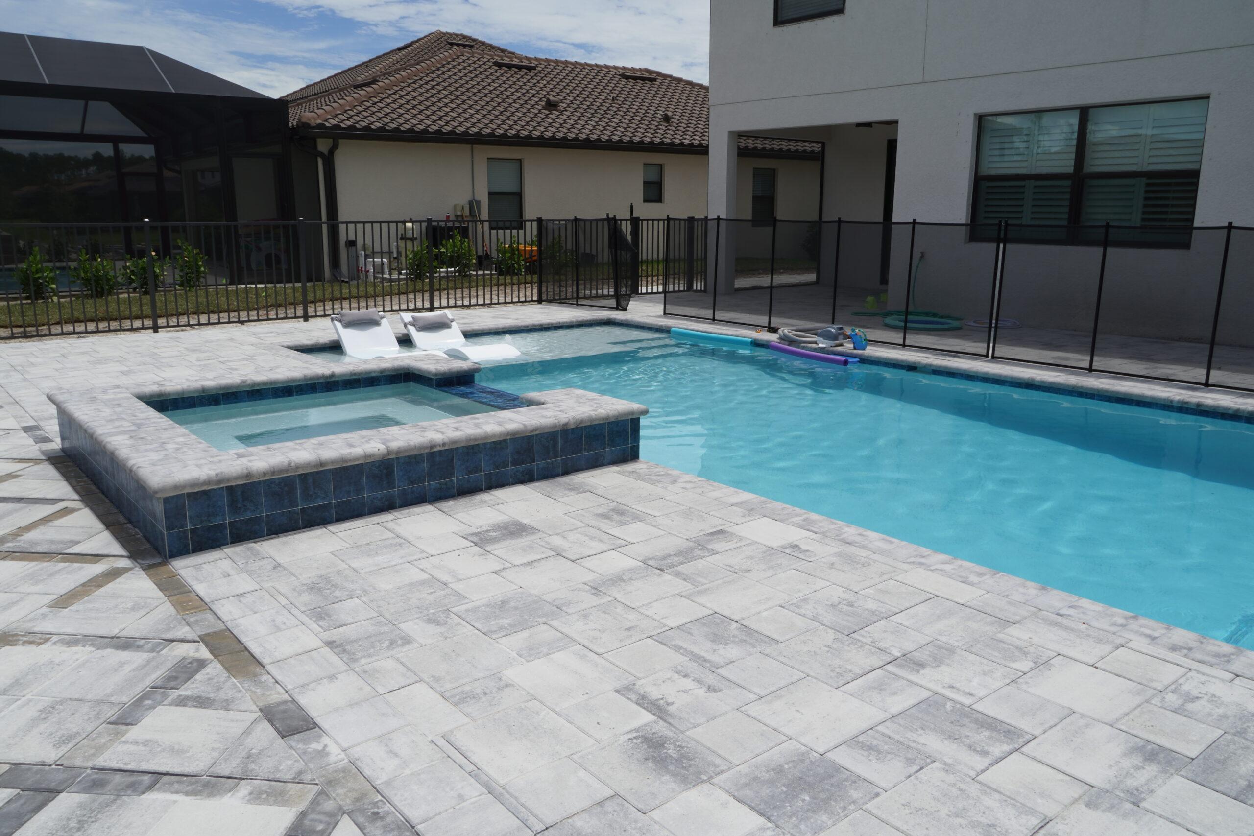 Naples FL Pool Installation Grey